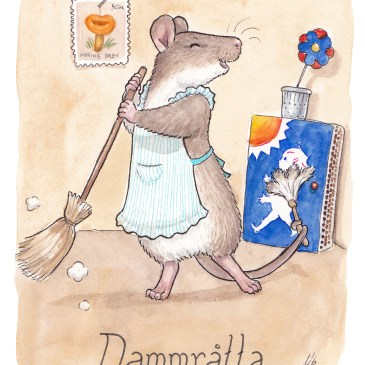 dammråtta illustration ordvits