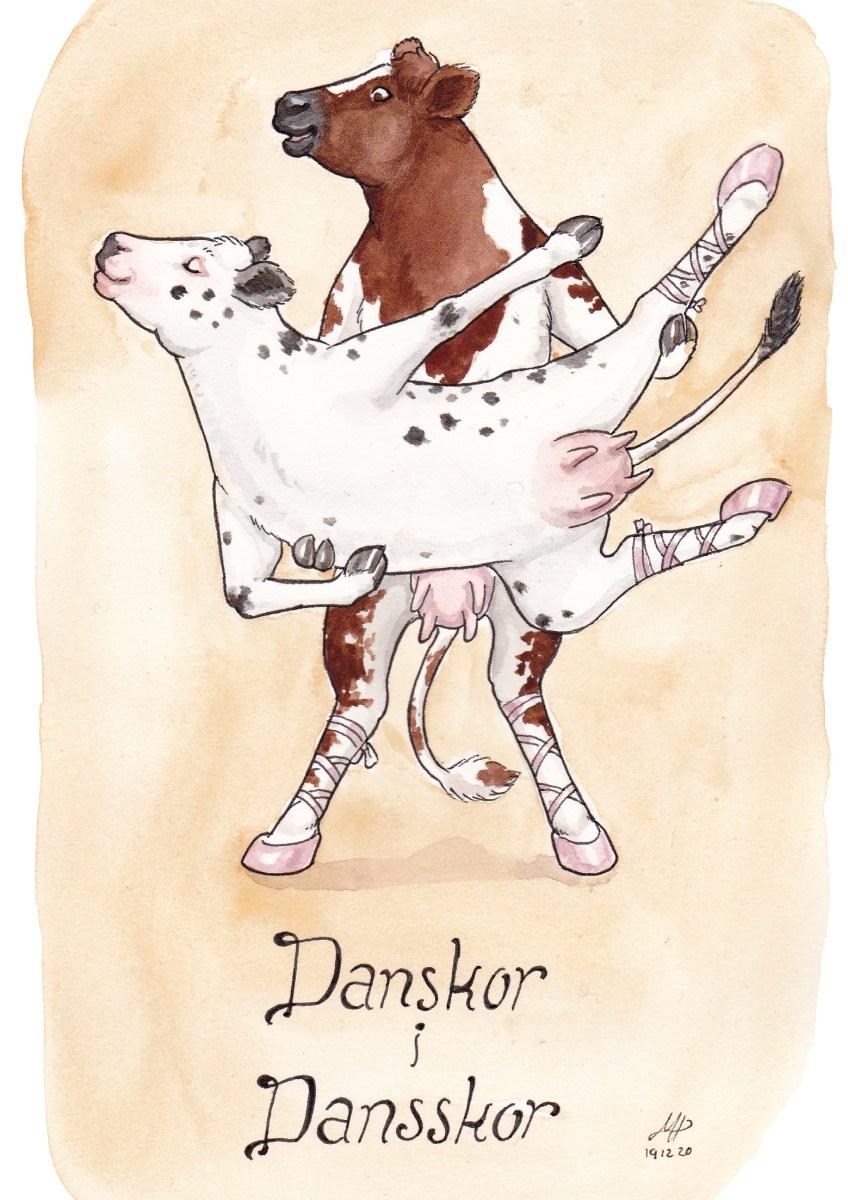 danskor illustration ordvits