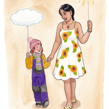 väderballong ordvits illustration