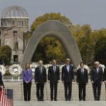 """4/11のNHKハングルニュース単語帳。 """"G7外相ら原爆慰霊碑に献花""""時事用語 YouTubeもチェキラ!"""