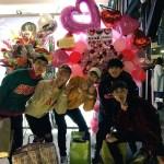 風船舞う「Be My Love」で幕を閉じた韓国AxisB(アシズビ)2nd season最終公演~「たくさんの思い出をありがとう」「ずっと応援するよ」(2017年2月5日SHOWBOX)