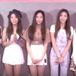 韓国女性アイドルグループCLCがKMF2017で新曲初披露☆「『チャミスマ』が聞こえたら一緒に踊って!」動画メッセージ到着!
