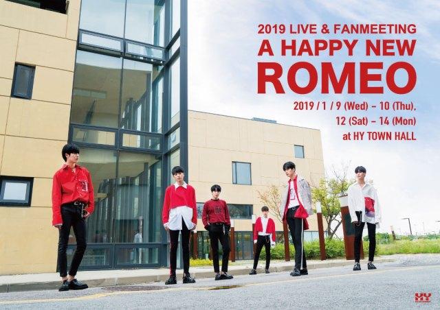 ROMEO 2019 LIVE & FANMEETING -A HAPPY NEW ROMEO-