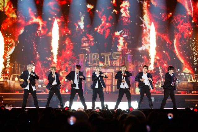BTSステージ