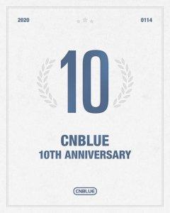 CNBLUE韓国デビュー10周年おめでとう