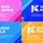 世界最大級K-Cultureフェス『KCON 2020』4月日本(幕張メッセ)☆6月&8月アメリカ(NY、LA)☆9月タイ(バンコク)開催決定‼