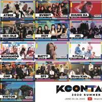 『KCONTACT 2020 SUMMER』コンサートラインナップ22組