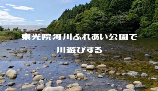 【新潟県五泉市】東光院河川ふれあい公園で川遊びだ!無限流木焚き火もできるぞ!