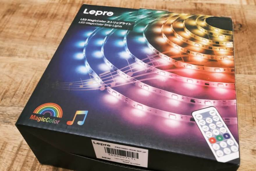 Lepro magiccolor LEDテープライト
