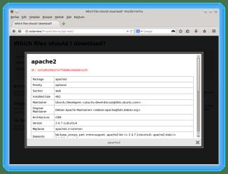 apt-web detail