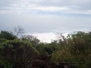 The cloud is already below us