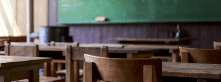 黒板と教室