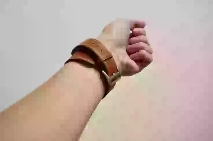 Apple Watch Band Wollpoの下から見た図