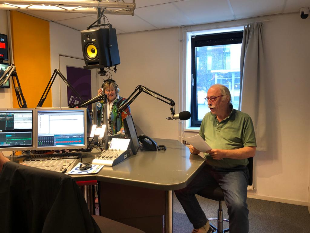 Gesproken column Leo Janssen op regionale radiozender NH Gooi