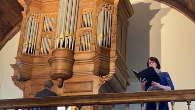 Avontuurlijk Titz-orgel feestelijk ingewijd met zomerconcert in Johanneskerk