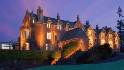 Andy Murray casa na sua casa de luxo