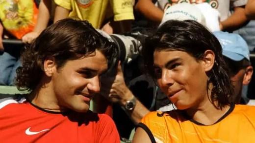 Treze anos depois, o top 5 mundial não terá nem Federer, nem Nadal na segunda-feira