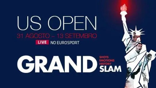 Siga tudo do US Open com o Eurosport Player