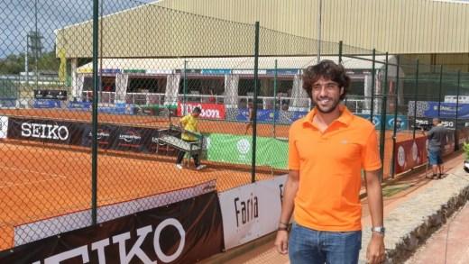 Frederico Marques visita torneio sub-16 na Beloura