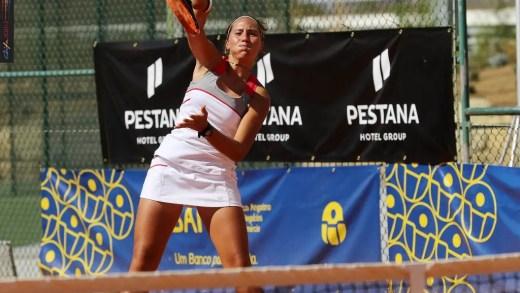 Francisca Jorge perde batalha de três sets em Óbidos