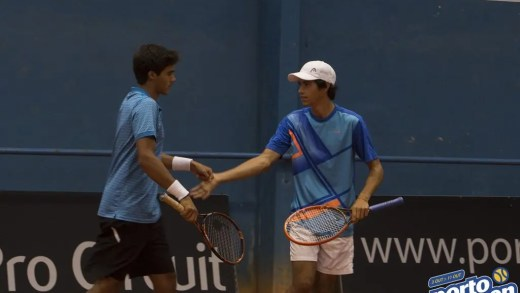 3 Duplas portuguesas nos quartos-de-final do Porto Open