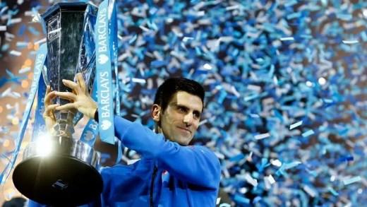 Jogo, set, encontro, título e temporada: Novak Djokovic