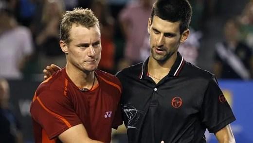 Assuntos de números um: Novak Djokovic ultrapassa Lleyton Hewitt