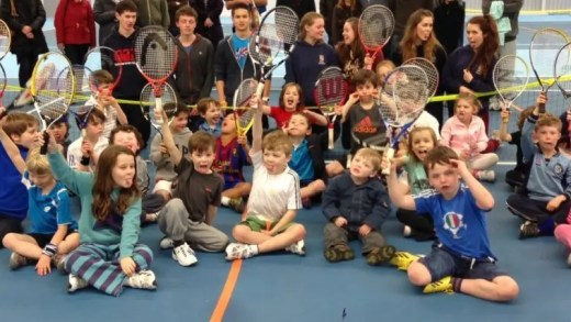 10 mil raquetes vão ser distribuídas gratuitamente na Grã-Bretanha
