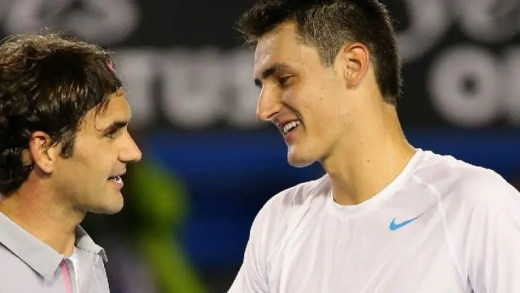 Federer: «Tomic rumo ao top-10? Ouço isso todos os anos»