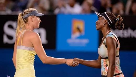 Venus sobre Sharapova: «Vai ser bom tê-la de volta»
