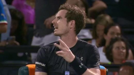 [Vídeo] Andy Murray recusa jogar com bola de mulher