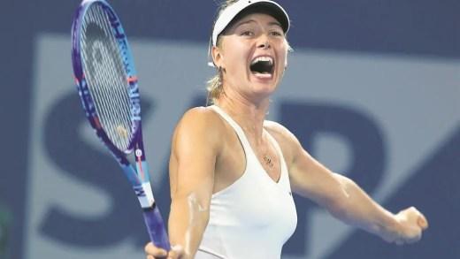 ACABOU. Maria Sharapova já não é uma jogadora suspensa