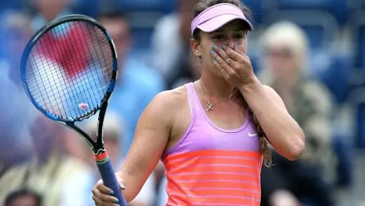 Michelle lesiona-se e falha ITF de Dothan