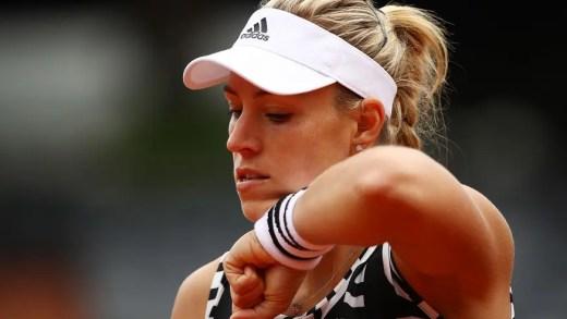 """Auf Wiedersehen, Angie!"" Campeã do Australian Open cai na 1.ª ronda em Paris"