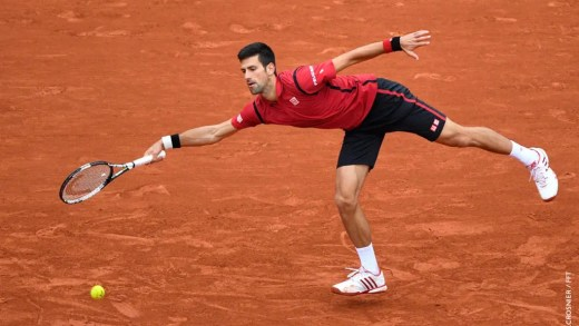 Djokovic com um pé em Paris e outro em Londres
