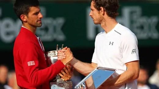 Andy Murray: «O que o Djokovic fez hoje foi muito especial»