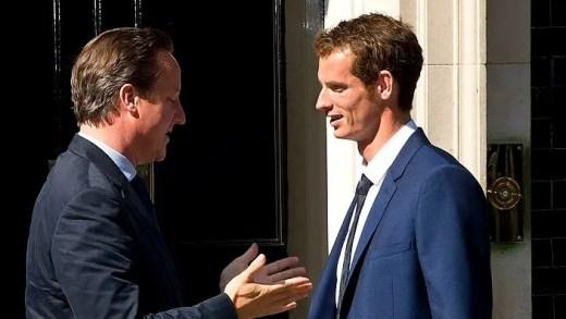 [Vídeo] Primeiro-ministro inglês reclama louros… dos dois títulos de Murray em Wimbledon