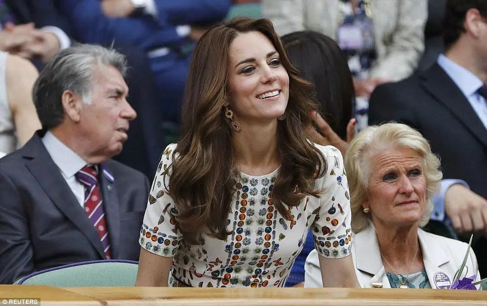Kate Middleton substitui a rainha Isabel II e é a nova patrona de Wimbledon