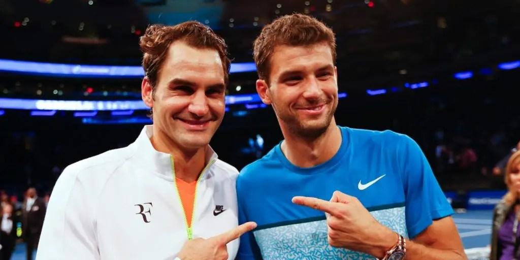 Não há professor como o Federer, diz Dimitrov