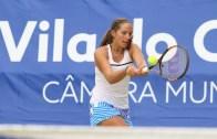 VITÓRIA. Francisca Jorge soma o seu 1.º ponto WTA do ano em Santarém