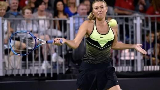 Auckland quer Sharapova e a melhor tenista neozelandesa nem quer acreditar