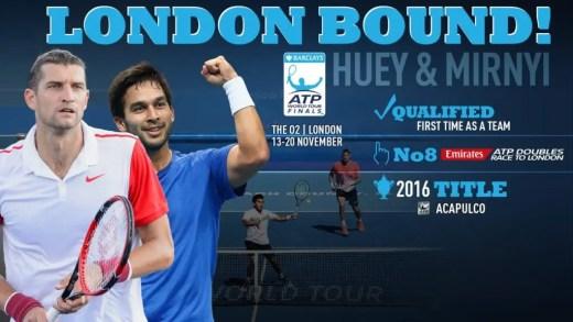 ATP Finals. Conheça o top 8 para o torneio de pares