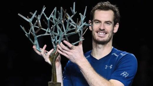 Andy Murray: o novo número um é também campeão do Masters 1000 de Paris