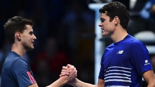 Sem enfrentar break points, Raonic atinge 'meias' das ATP Finals pela 1.ª vez na carreira