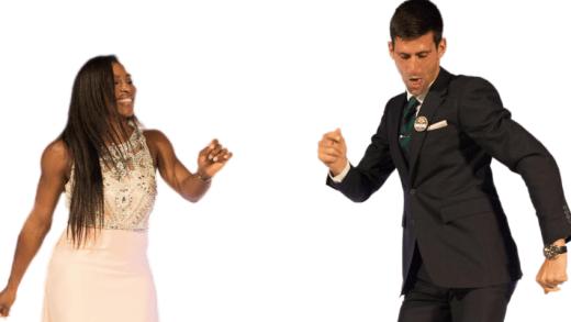 Djokovic invade aula de dança, dá às ancas e provoca Shakira