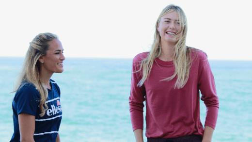 Sharapova vai até Porto Rico ajudar Monica Puig com as vítimas do furacão