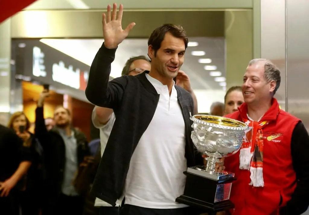 Federer já tem definido o seu próximo objetivo. E é em grande