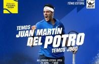 Juan Martin del Potro é o primeiro nome confirmado do Millennium Estoril Open