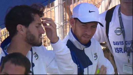 Anunciada a convocatória israelita que vai defrontar Portugal na Taça Davis