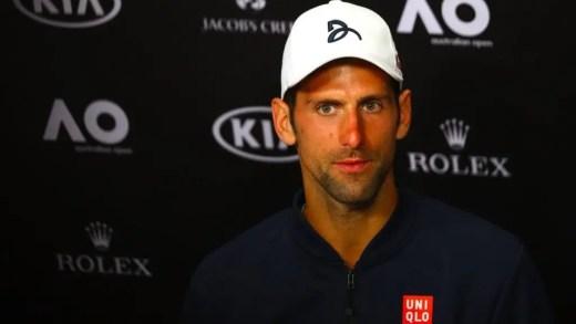 Djokovic sobre Istomin: «Foi o momento certo para ele, o dia perfeito»